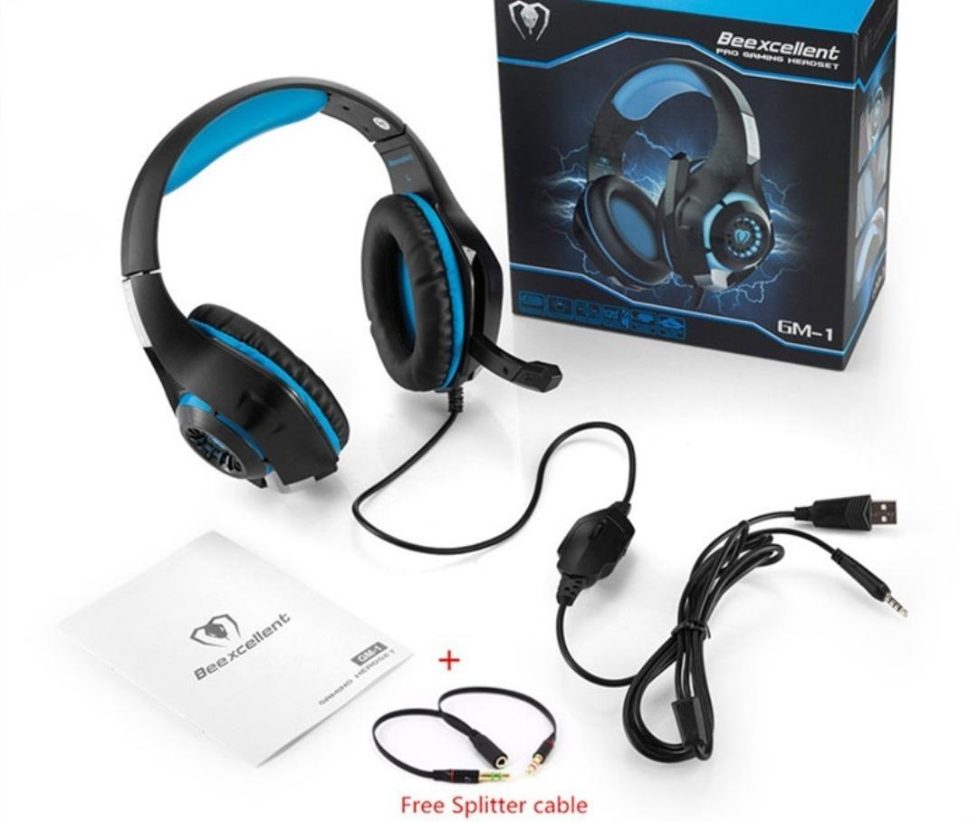 AURICULAR GAMER PC +PS4 GM1