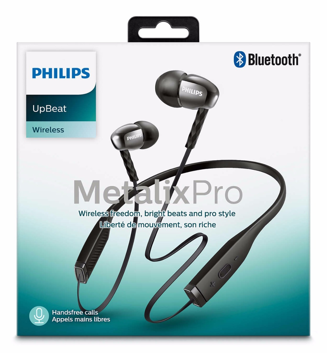 AURICULARES PHILIPS SHB-5950/BK METALIXPRO STYLE BLUETOOTH H