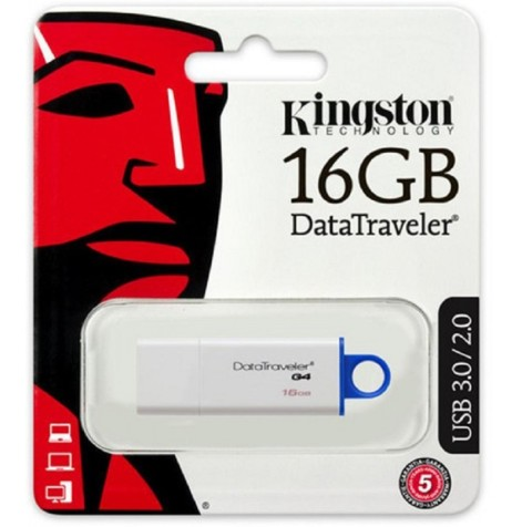 ELG PENDRIVE KINGSTON 16 GB ORIGINAL DTG4 JGT K016