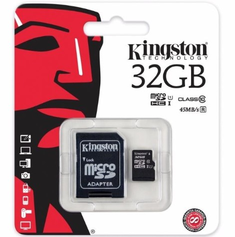 ELG KINGSTON MEMORIA 32GB C/10 ORIGINAL JGT K015