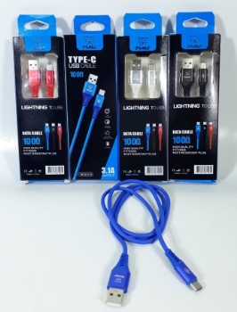 ELG CABLE TIPO C TIME 3.1A CAJITA JGT TMCB6103