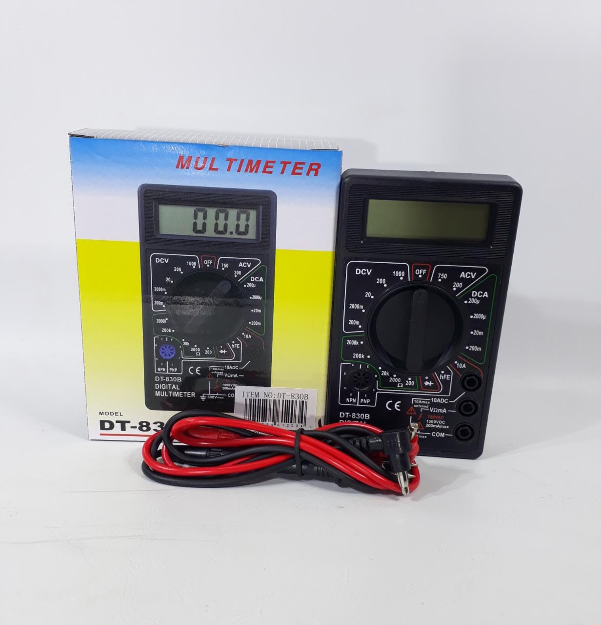 TESTER DIGITAL DT-830B