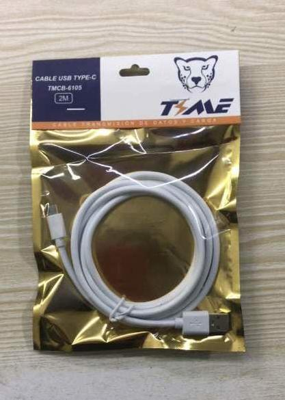 CABLE V8 2A TYME 2 MTS