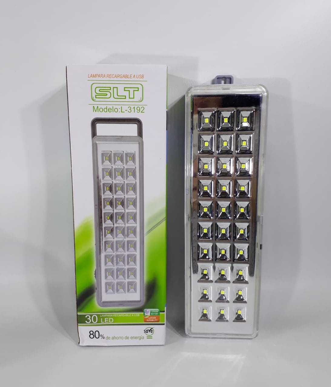 LUZ EMERGENCIA DE 30 LED KD-830