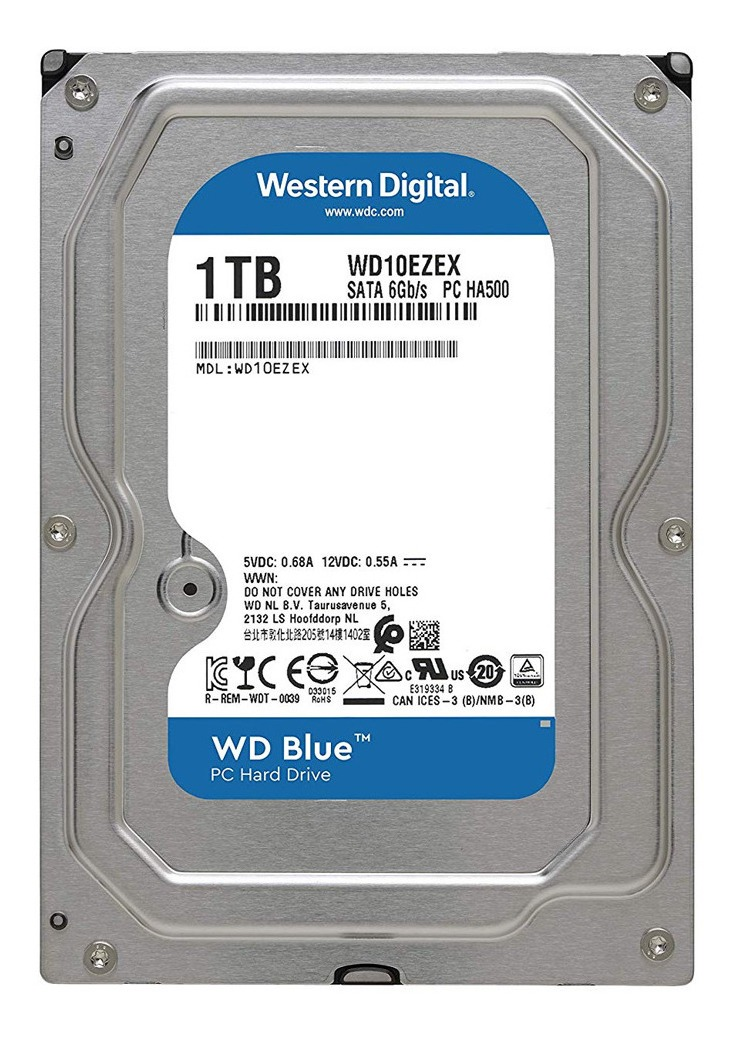 DISCO WESTER DIGITAL 1 TB
