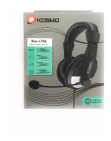 AURICULAR KOSMO KOS L750 MULTIMEDIA PC NOTEBOOK CON MICROFON