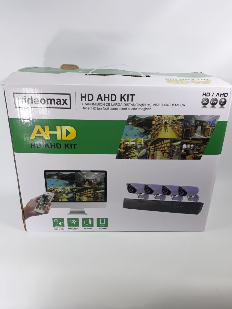 ELG KIT DE CAMARA X 4 FULL HD POWER JGT 6145AHD-4