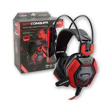 AURICULARES NOGANET ST-CONQUER STORMER GAMER MIC LUZ LED USB
