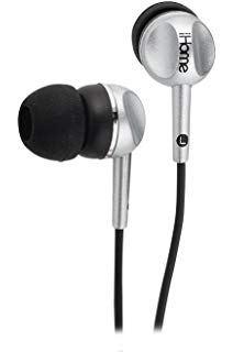 AURICULARES IHOME IB5L NEGRO COLOR TUNES IN EAR NOISE ISOLAT