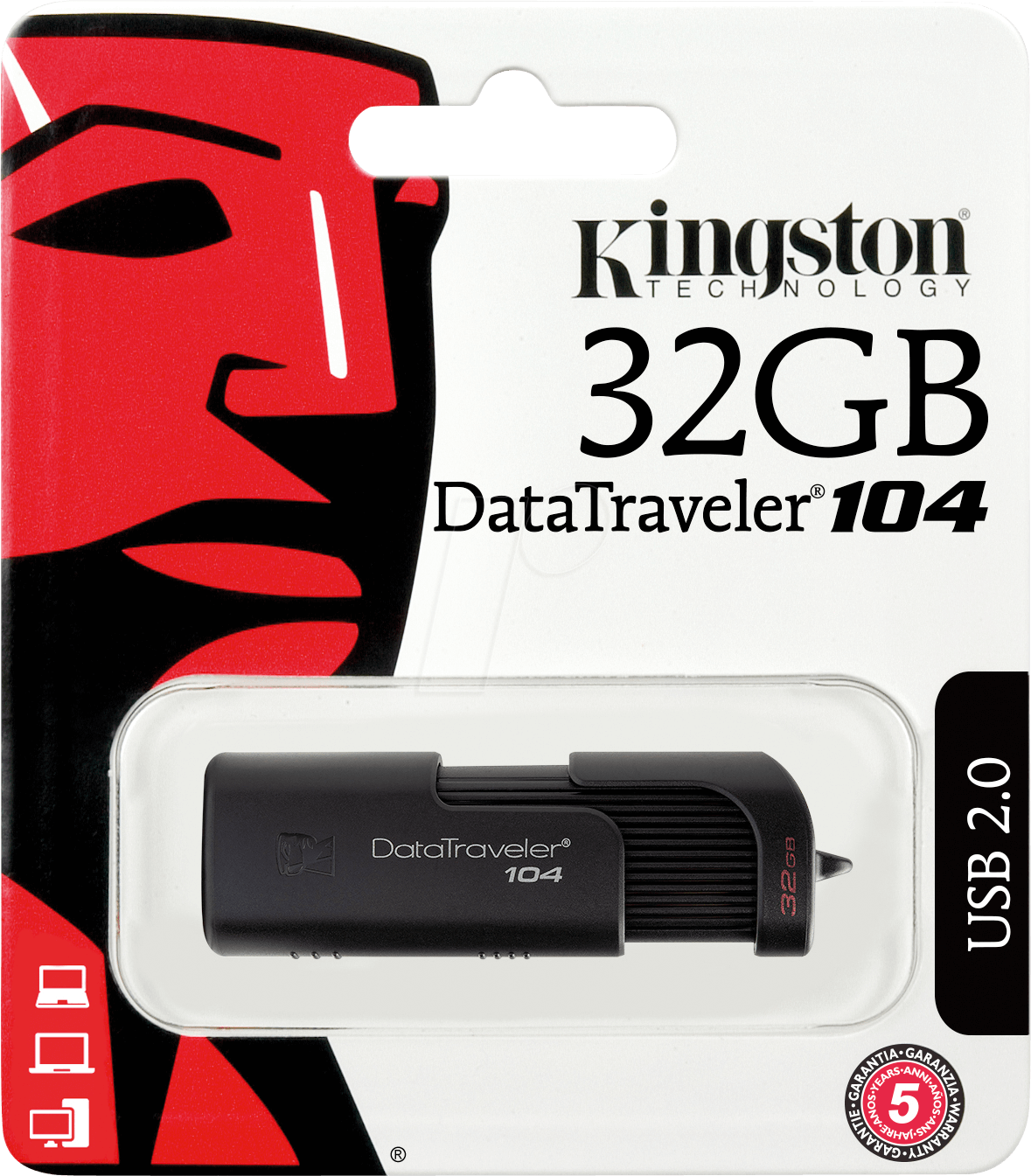 PENDRIVE 32GB KINGSTON