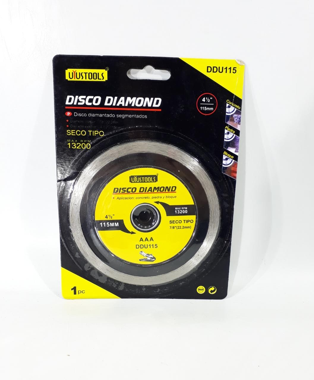 DISCO PLANO DDU115 115MM