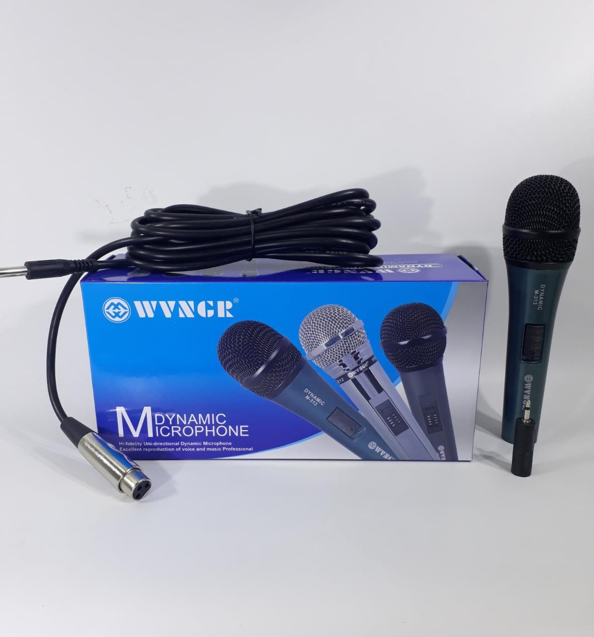 MICROFONO C/CABLE DYNAMIC DM-1908