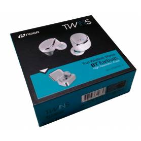 AURICULARES NOGANET NG-BTWINS 4 TWS CHARGING BOX BLANCO IN E