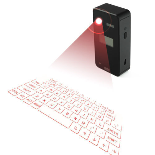 XXI  TECLADO VIRTUAL LASER KEYBOARD CON DISPLAY