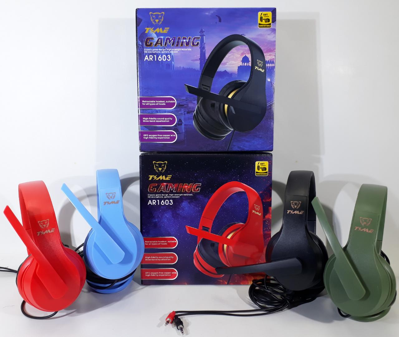 AURICULAR VINCHA GAMER PC TYME CON CABLE ADAPTADOR A PS4