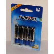 FULLTOTAL PACK X 4 PILAS CARBON SUPER HEAVY DUTY AA