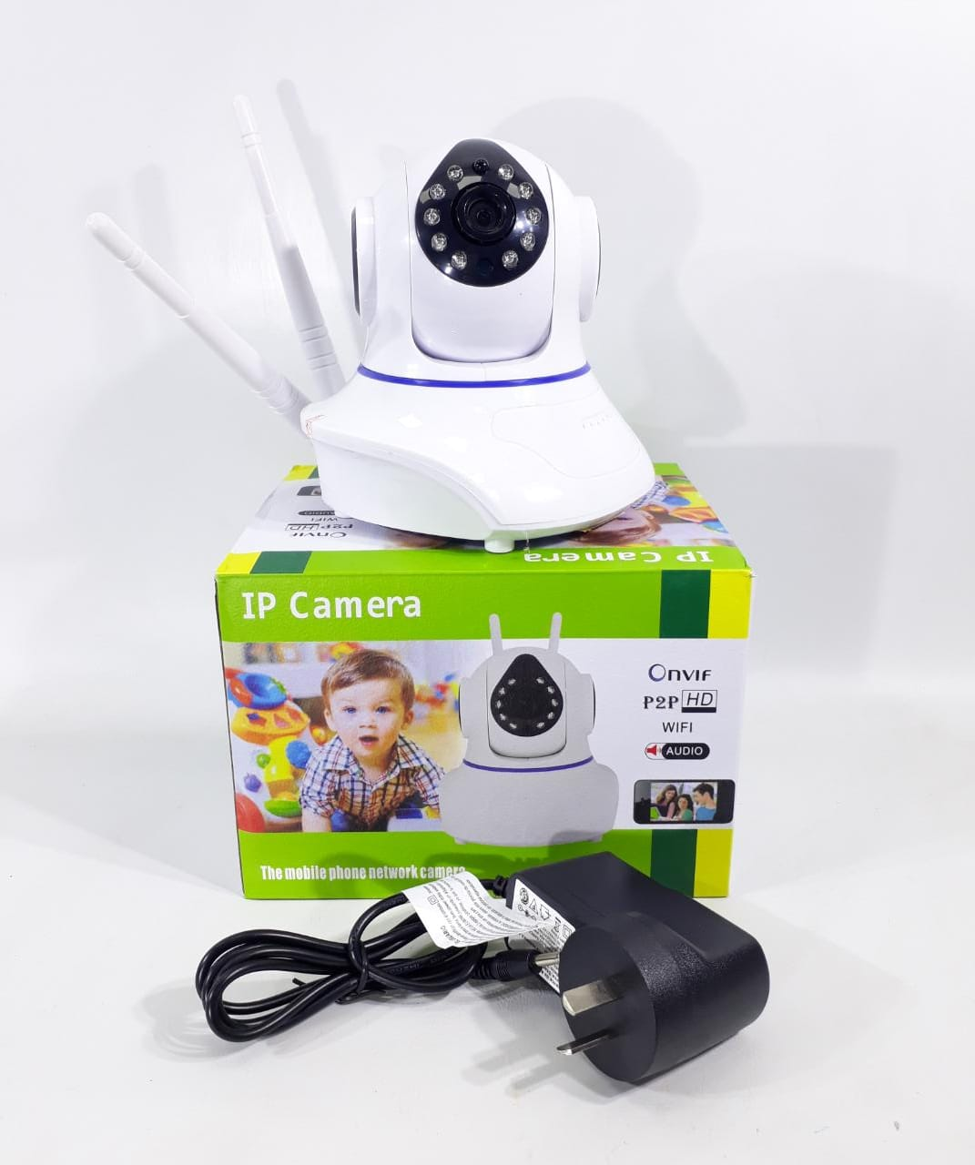 ELG CAMARA IP WIFI/AUDIO JGT CS-180BW-2B