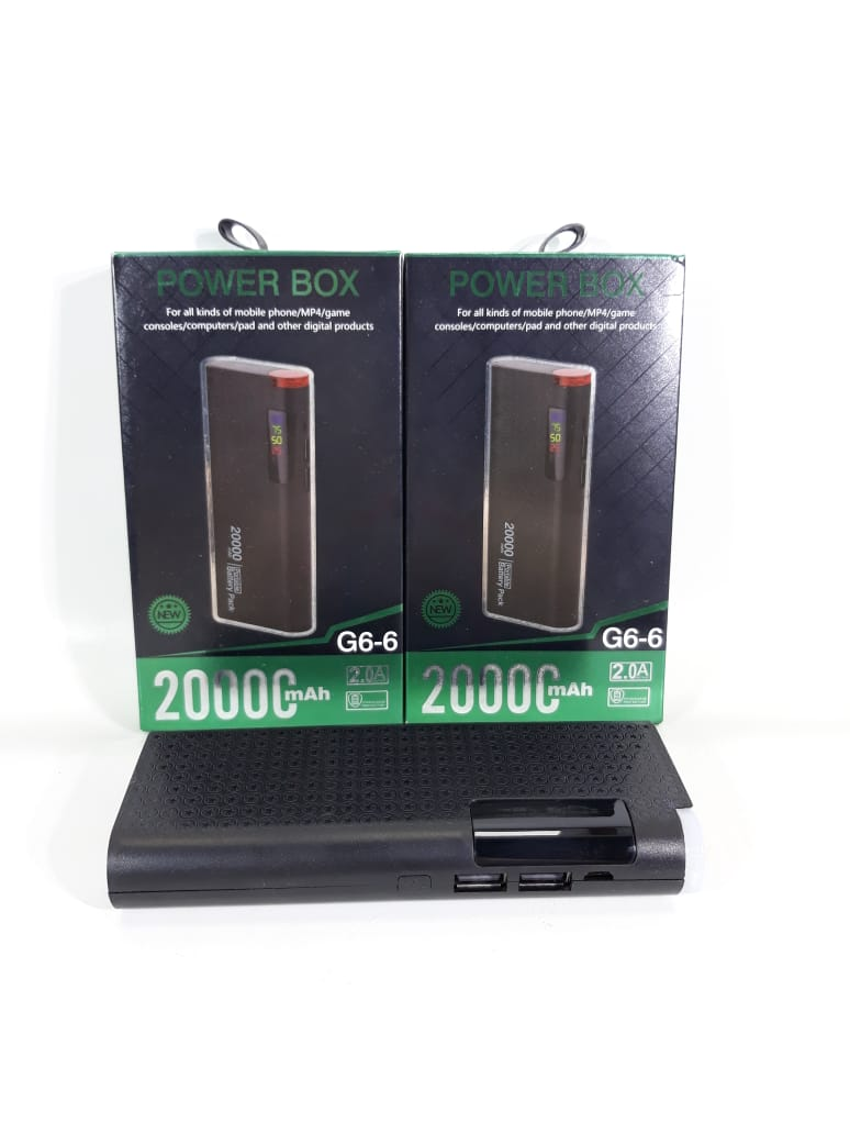 ELG POWER BANK 20000MAH JGT G6-6