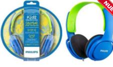 AURICULARES PHILIPS SHk-2000BL/00 AZUL KIDS VINCHA 3,5MM