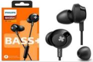 AURICULARES PHILIPS SHE-4305BK/00 NEGRO BASS+ IN EAR CON MICROFONO