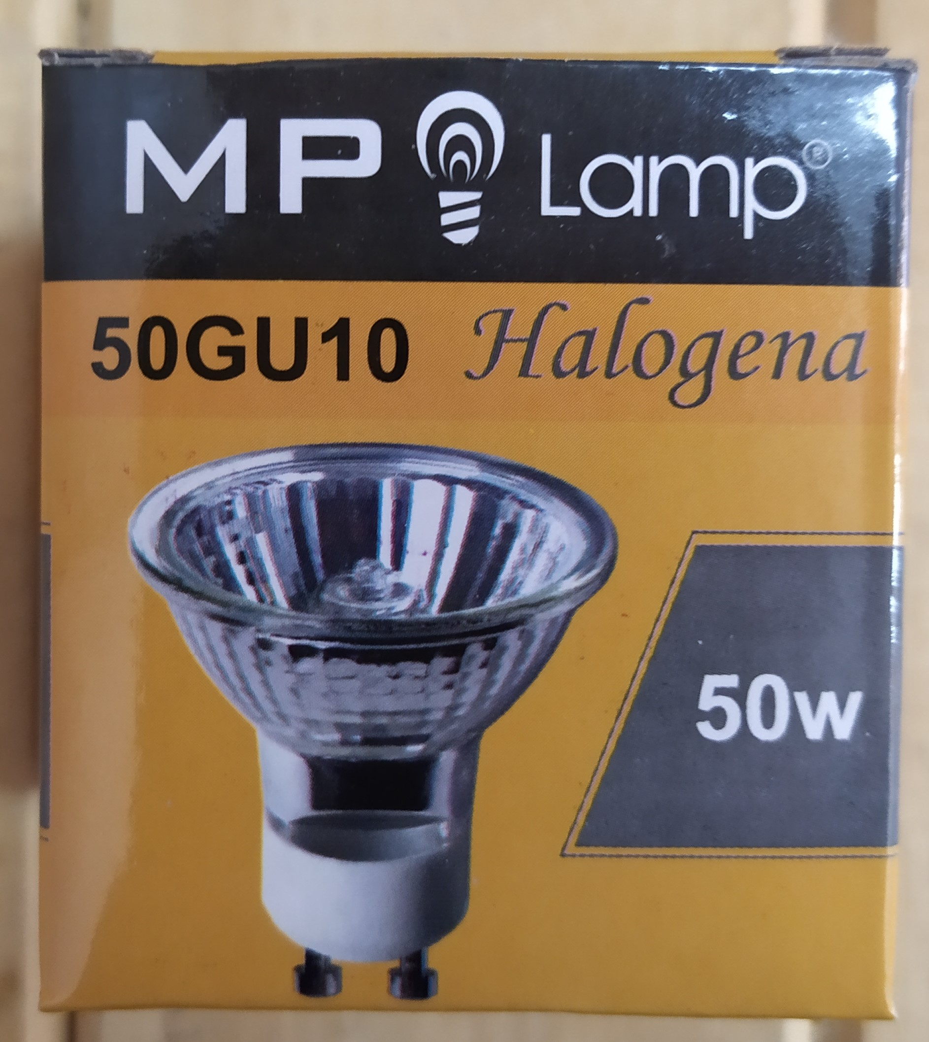 E16 LAMPARA HALOGENA GU10 50W-220V MP