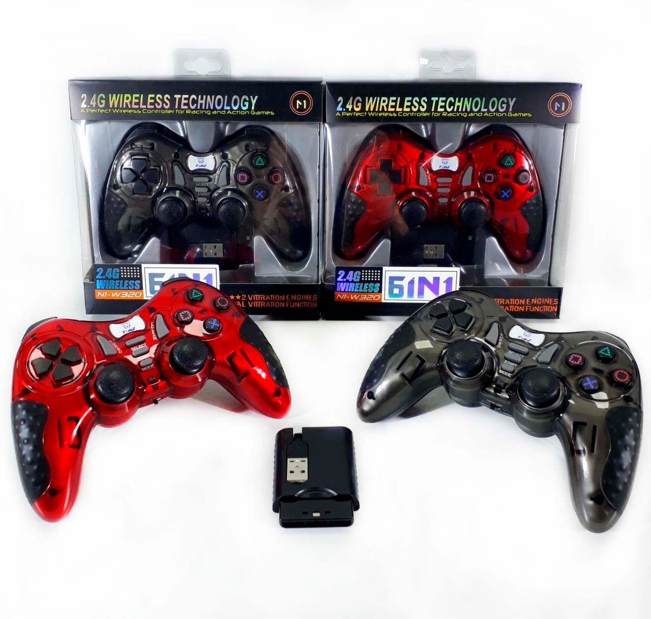 JOYSTICK INALAMBRICO 6 EN 1 PS3/PS3/PC/ANDROID
