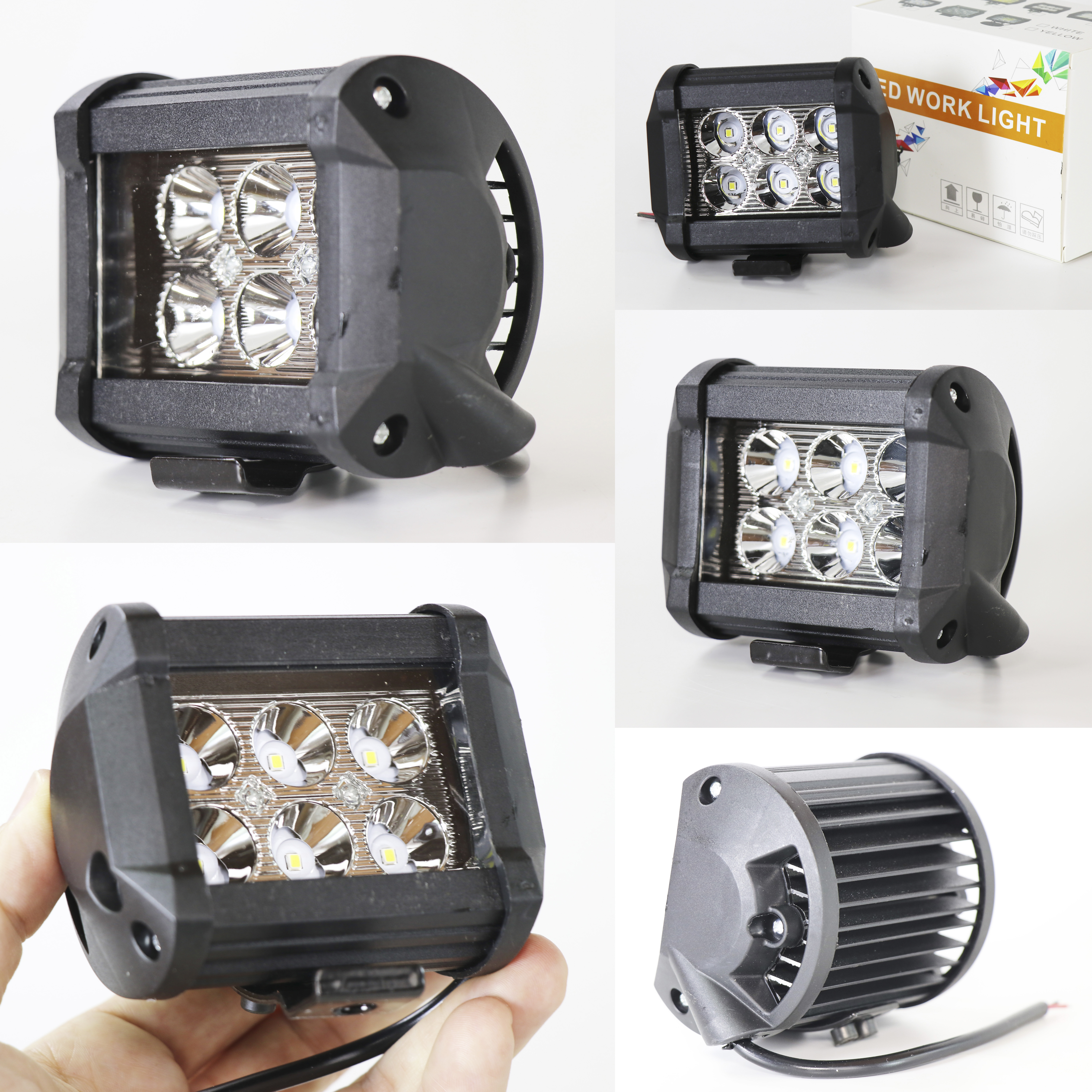 ELG REFLECTOR 18W 6LED 6D PARAGRAPH MYL 18W 6LED 6D