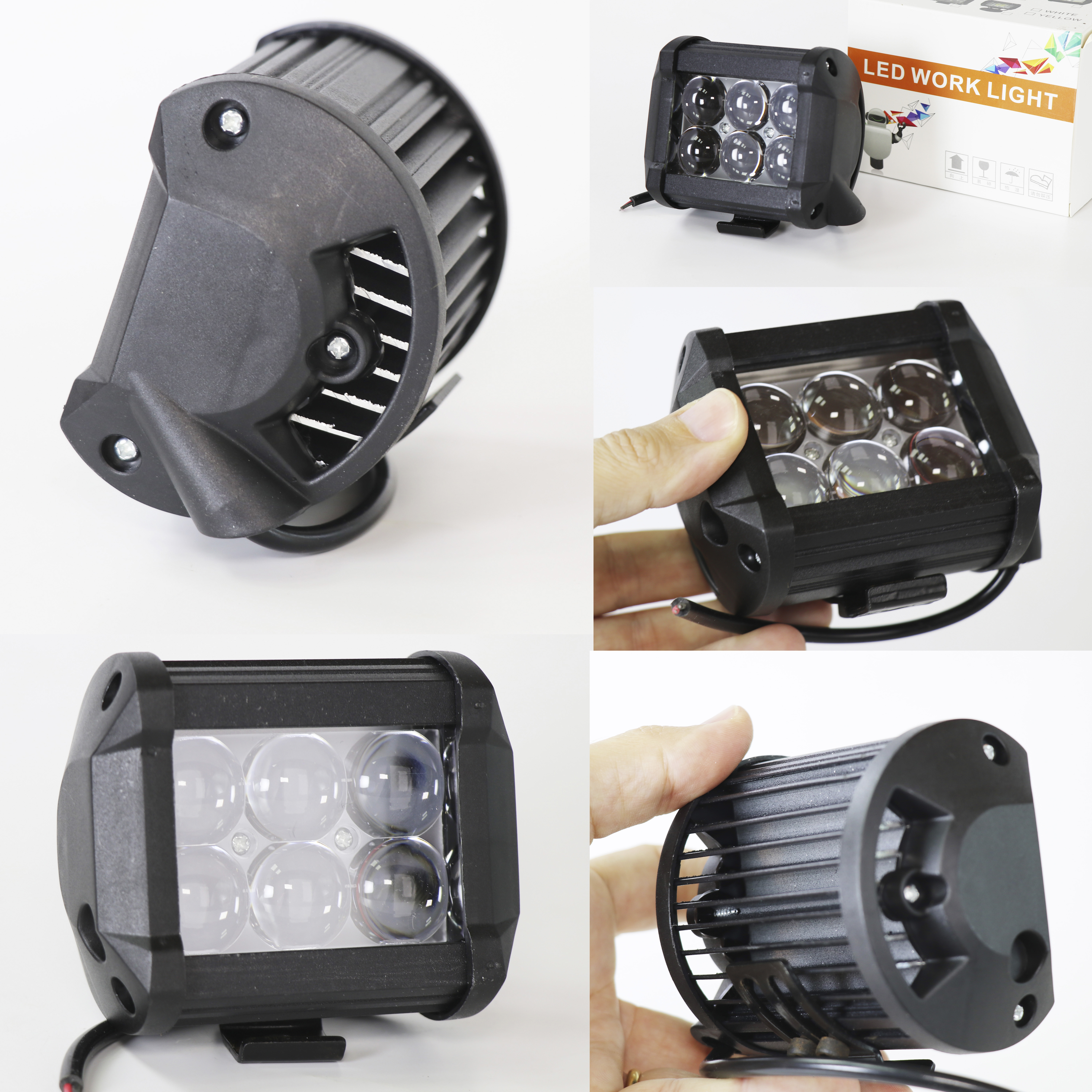 ELG REFLECTOR 18W 6LED GATHERING LIGHT JGT 18W 6LED