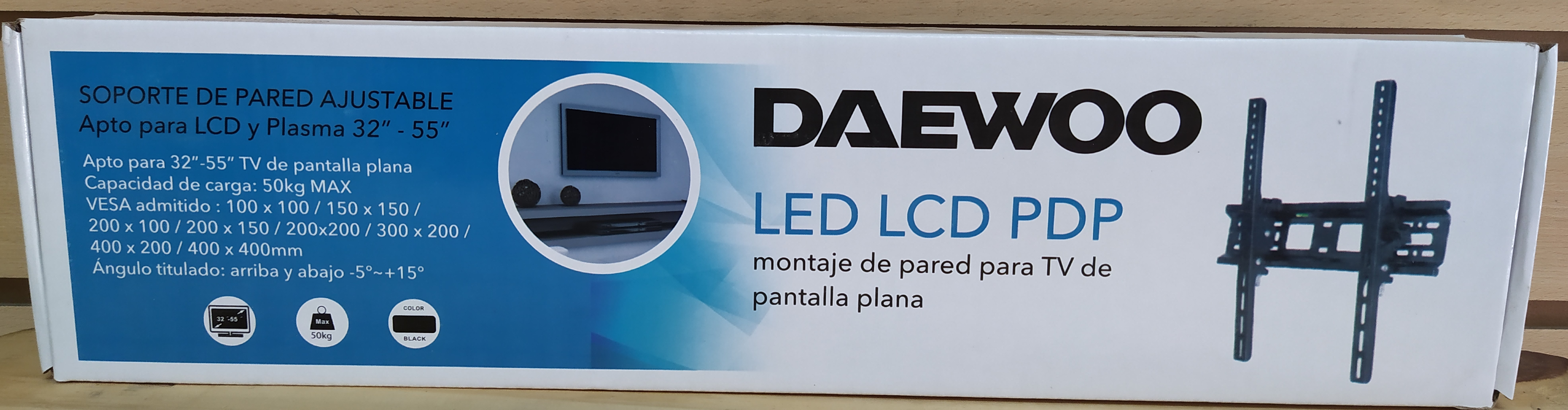 E16 SOPORTE DE TV PARA PARED DAEWOO HT002