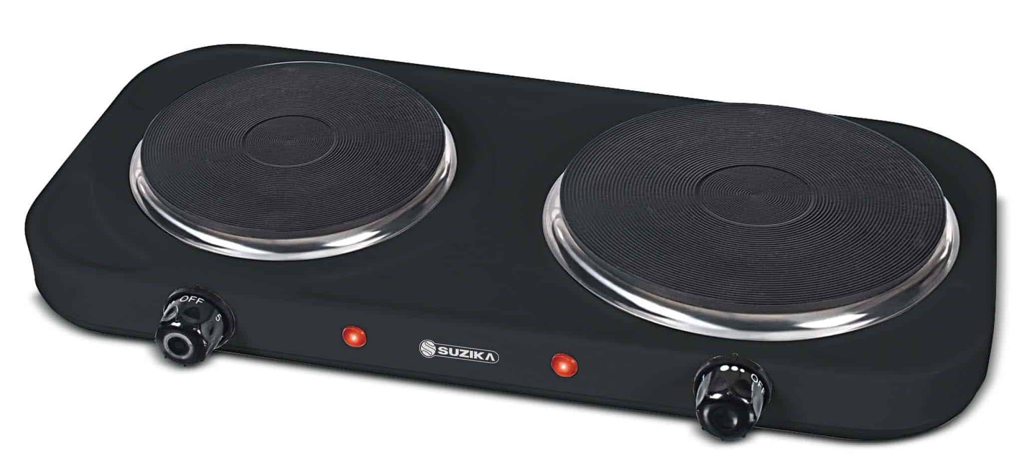 ANAFE ELECTRICO 2 HORNALLAS 1500-2000 WATTS SUZIKA