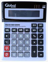 CALCULADORA GLOBAL 12 DIGITOS