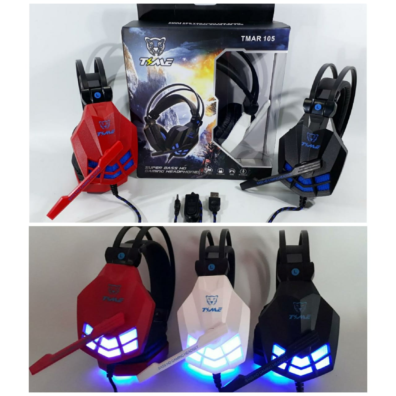 ELG VINCHA GAMER TIME C/ LUZ LED (PS4,PC) JGT TMAR105