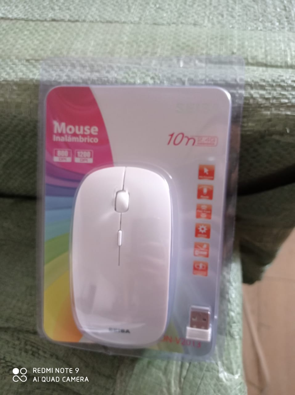 DN-V2013 MOUSE OPTICO INALAMBRICO 2.4G