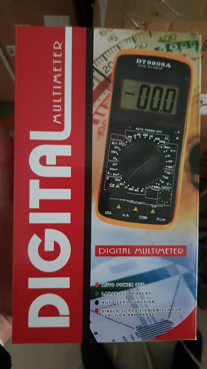 TESTER DIGITAL CON MULTIMETRO 9205