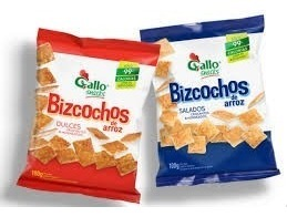 BIZCOCHITOS GALLOX 50GR SALADOS/DULCE/TORTITA