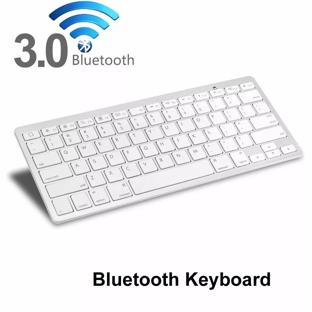 TECLADO INALAMBRICO BLUETOOTH 3.0 IPAD/ANDROID/WINDOWS
