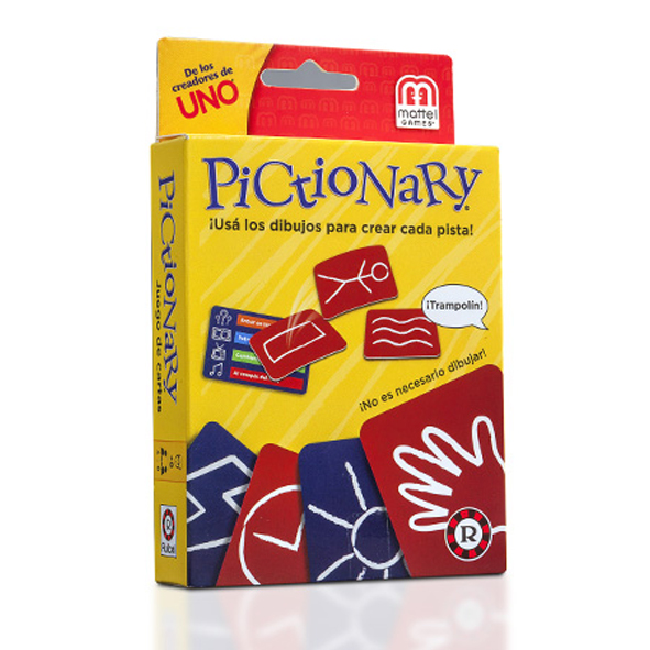 JGTS PICTIONARY CARTAS N1E 14701