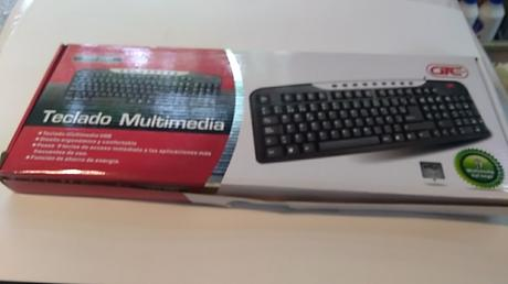 TECLADOGTC MULTIMEDIA USB
