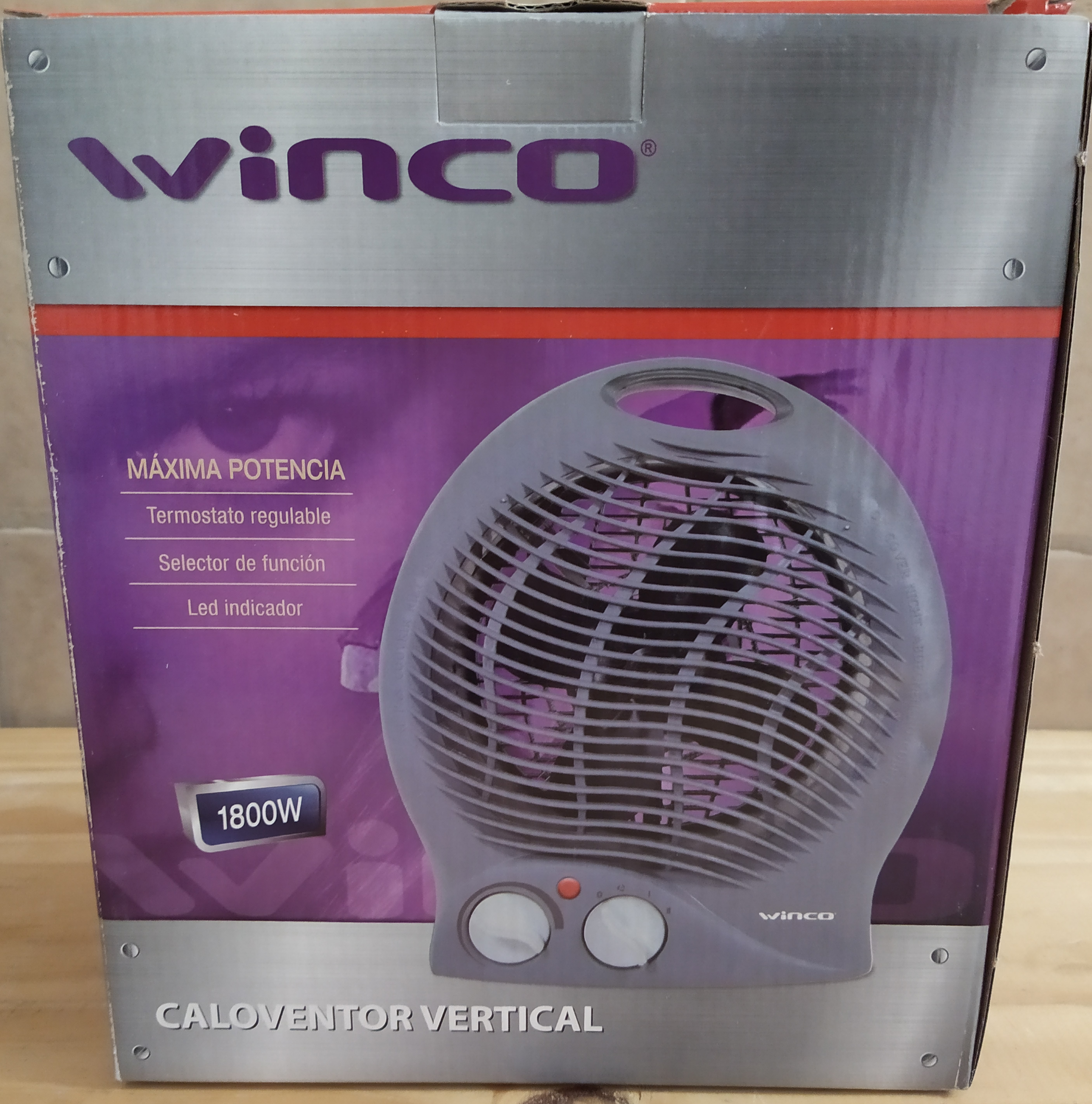 E16 CALOVENTOR PORTATIL WINCO 1800W