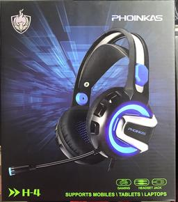 SSIE AURICULAR GAMER PARA PC Y PS4 H4