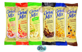 Barra Cereal Mix x 26gr vainilla/light