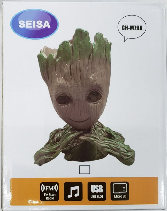 DGS PARLANTE PORTATIL BLUETOOTH BABY GROOT